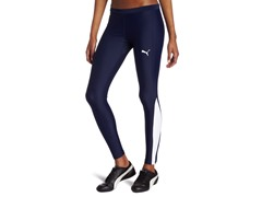 Puma Women's TB Running Long Tight, Navy