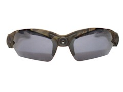 1080p HD Action Cam Sunglasses - Camo