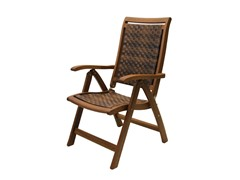 Outdoor Interiors 5-Position Folding Arm Chair