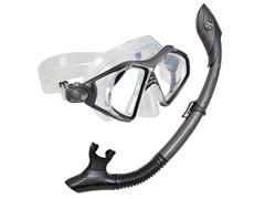 U.S. Divers Admiral 2 Lx, Island Dry Adult Mask Combo