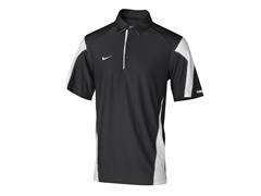 Nike Men's Check Down Polo-Blk/Wht (S,M)