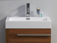 "24"" Bailey: Single Sink Bathroom Vanity- Plum"