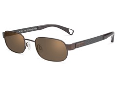 T104 Polarized Sunglasses, Chocolate Brn