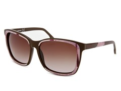 Women's Sunglasses, Brown-Pink/Brown Gradient
