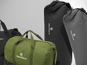Bear & Bark Duffel Bags