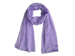 Tie Dye Wrap Purple