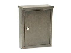 Laguna Locking Mailbox, Dark Aged Copper