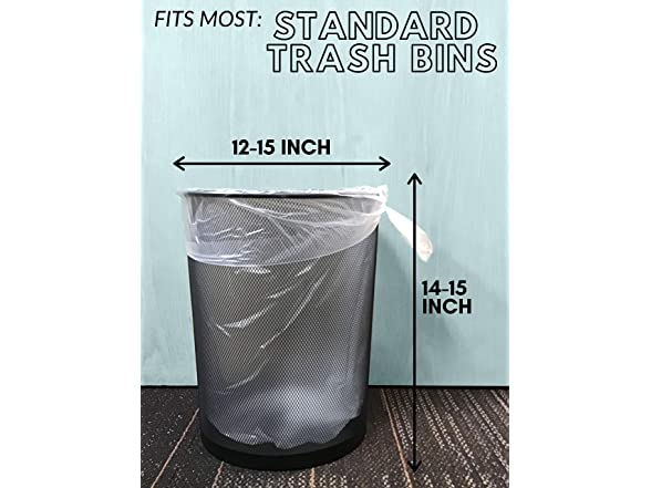 Wholesale 1000 Count Garbage Bags on Perforate TYPLASTICS Trash Can Liners Bag