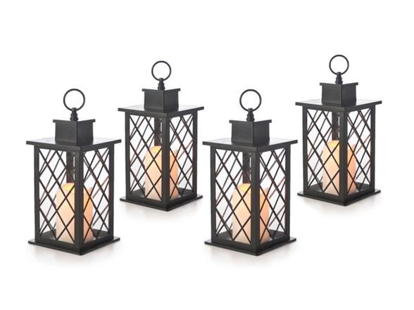 Westinghouse Flameless Candle Lantern 4pk 4 Styles