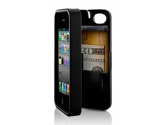 iPhone 4/4S Case w/Hinged Back - Black