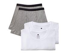 Kings Underwear Crew Neck Shirt/Boxer -4Pk