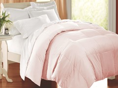 Egyptian Cotton Comforter-Pink-F/Q