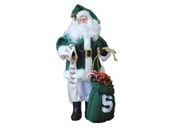Santa Claus w/bag - Michigan State