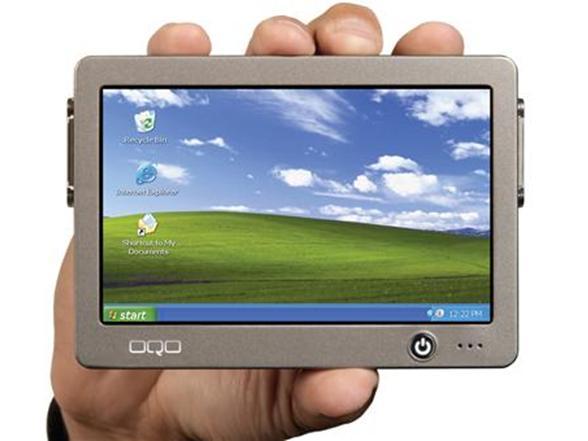 OQO Ultra Portable PC Model 01+ w/ Windows XP Tablet