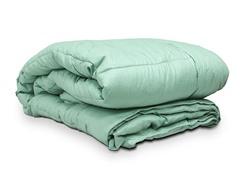 Embossed Microfiber Comforter Sage - 2 Sizes