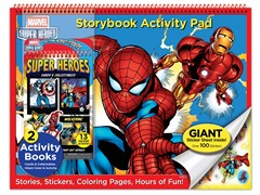 Marvel Heroes Storybook Activity Pad