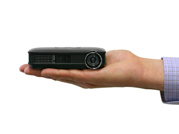 Pico palm sized projector w apple kit for Palm projector