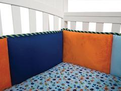 Snuggle Monster- Crib Bumper
