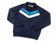 Boys Tricot Track Jacket - Navy