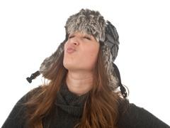 Biodomes Snowflake Knit Bomber