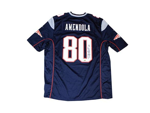 best website 865c3 0e532 Danny Amendola Signed Patriots Jersey