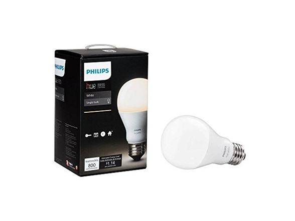 Philips Hue White A19 Single LED Bulb