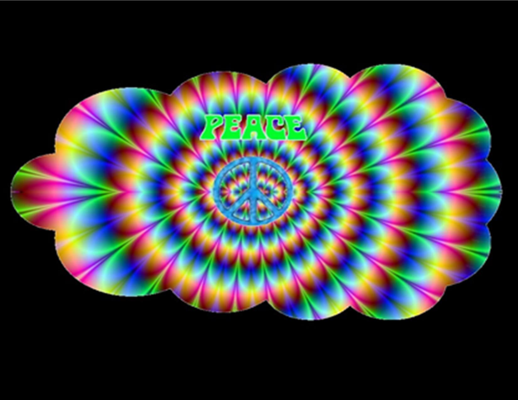 Peace Psychedelic Style