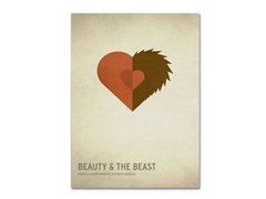 Beauty and The Beast - 2 Sizes