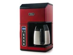 10-Cup Coffee Maker- Red