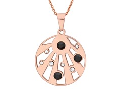 18 kt Rose Gold Plated Pendant