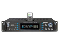 3000W Hybrid Receiver & Pre-Amp w/ Tuner & iPod Dock