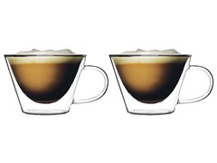 Luigi Bormioli Set of 2 Cappuccino Mugs