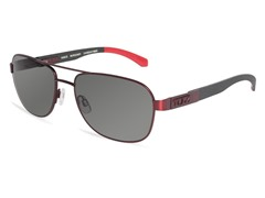 Vasco Polarized Sunglasses, Burgundy