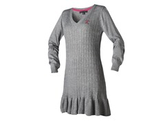 Beverly Hills Polo Cl Sweater Dress, Gray