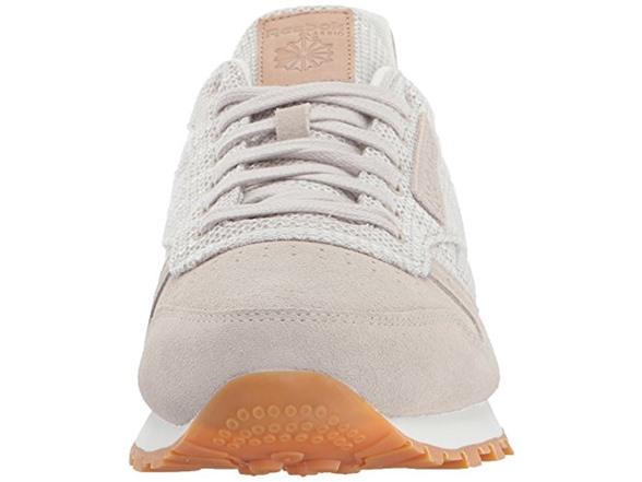 799650ad363 Reebok Men s CL Leather EBK Sneaker