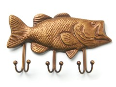 Fish Keyper Key Holder - Bass