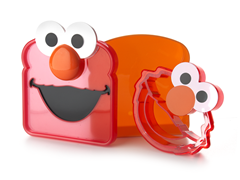 Elmo Sandwich Saver & Crust Cutt'R Set