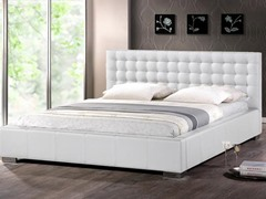 Madison Platform Bed White