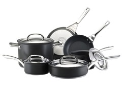 Circulon Infinite Hard Anodized Nonstick 10-Pc Set
