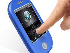 """8GB 3"""" Touch MP3 Video Player - Blue"""