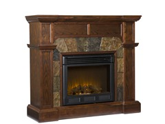Cartwright Espresso Electric Fireplace