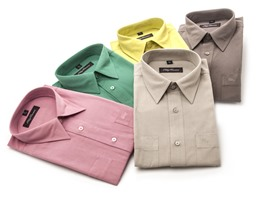 Oleg Cassini Men's Dress Shirt - 10 Colors