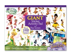 Disney Fairies Giant Sticker Pad
