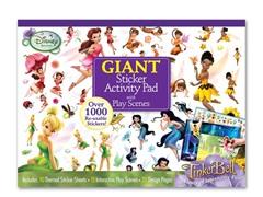 Disney Fairies Giant Sticker Pad