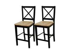 TMS Crossback Stool Set of 2 (2 Sizes)