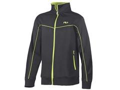 Full Zip Jacket - Black/Lime