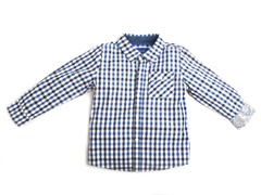 Oxford Shirt - Blue Gingham (2T,3T)