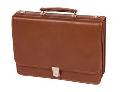 Lexington Genuine Leather Briefcase