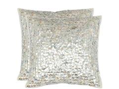 Dialia 18x18 Silver Shimmer - S/2