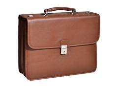 "Ashburn Leather 15.4"" Flapover Laptop Case"